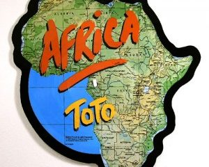 """Toto – """"Africa""""/""""Rosanna"""" Picture Disc"""