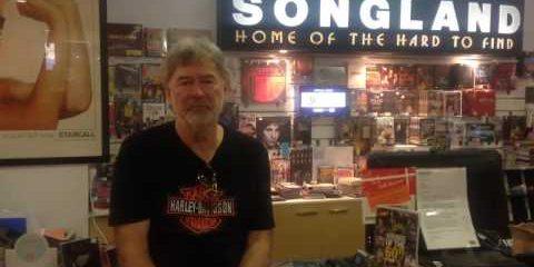 John Schumann talks record stores ….