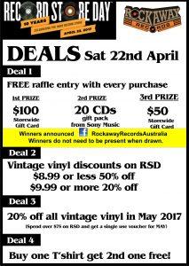 Rockaway deales