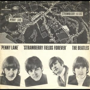The Beatles Penny Lane/Strawberry Fields Forever