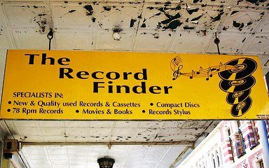 The Record Finder: Fremantle, WA