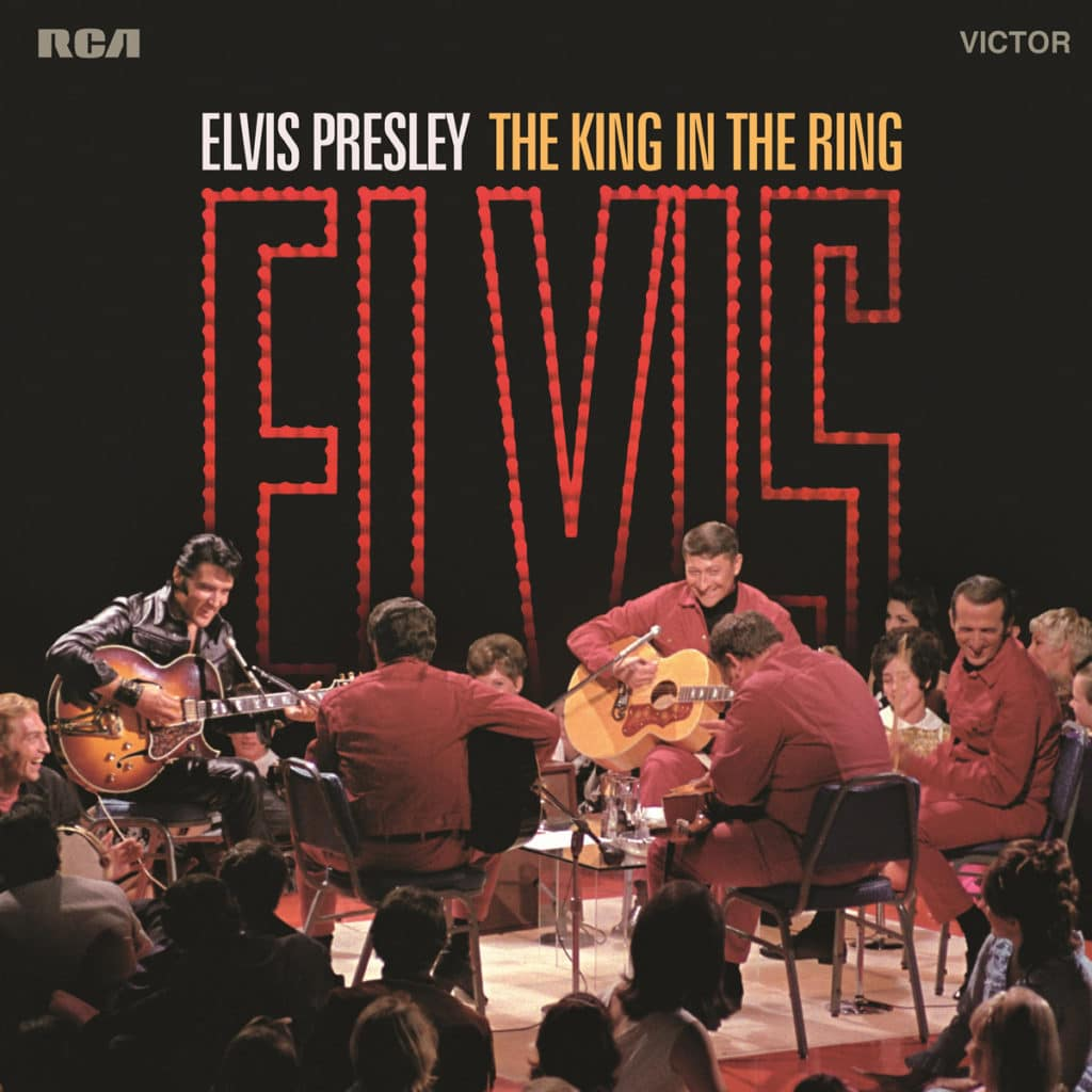 Elvis Presley The King In The Ring