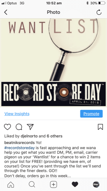 Beatniks promo image from Instagram