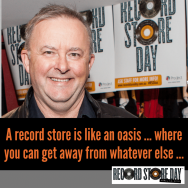 DJ Albo sends his regards for Record Store Day and has some words