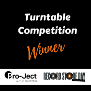 Lucky winner: Pro-Ject turntable competition!