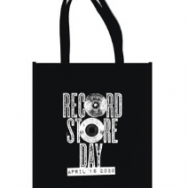 Roadie black is the new limited edition tote for Record Store Day 2020