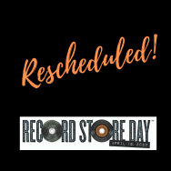 Record Store Day postponed to 20 June but save the date for other shenanigans on 18 April.