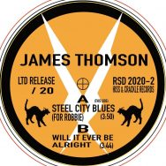 James Thomson: Golden Exile. 7″ for Record Store Day. Only 20.