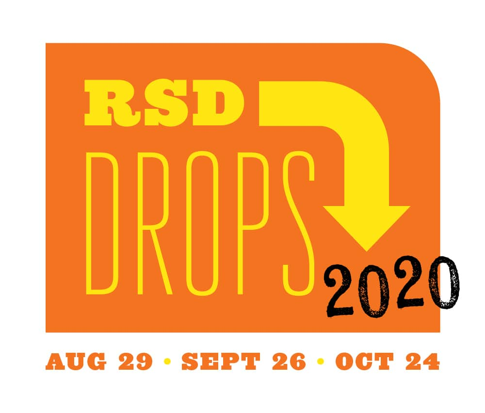 RSD Drops 2020 orange logo