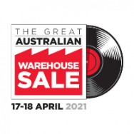 Great Australian Warehouse Sale returns on 17-18 April 2021
